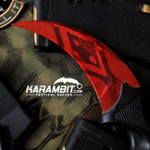 Painted Honshu Condition Red Karambit