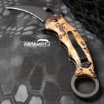 Fox 479KH Highlander Kryptek Folding Karambit - Emerson Wave (FX479KH)