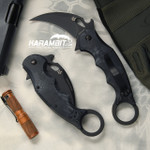 Fox 479KT Kryptek Typhon Folding Karambit - Emerson Wave (FX479KT)