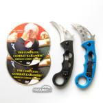 Emerson Stonewash Combat Folding Karambit and Training Karambit (EmersonSWKbit+EmrsnTrnr+DVDPkg)
