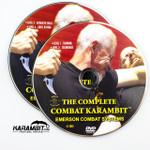 Emerson Stonewash Folding Combat Karambit & DVD Training Package - 3 in 1