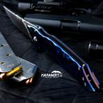 Phantom Steelworks Delirium Timascus Folder (SteelworksDeliriumTimFlder )