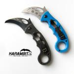 Emerson Black Folding Combat Karambit & Emerson Trainer Package