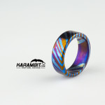 James Coogler Timascus Ring Style 6 - Size 10 (CooglerTimRingStyle6)
