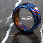 James Coogler Timascus Ring - Style 7 - Size 10 (CooglerTimRingStyle7)