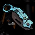 James Coogler's Teal Ravager Flipper Prototype Karambit (CooglerTealRavagerProto)