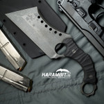 R.S. Knifeworks Wilson Blackout Ringed Butcher (RSKWilsonBlkoutButch)
