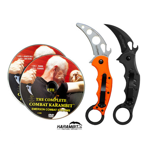 Fox 599 Karambit & DVD Training Package - 3 in 1 (FX599+Trainer+DVDPkg)