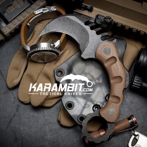R.S. Knifeworks Deadman's Hand Karambit