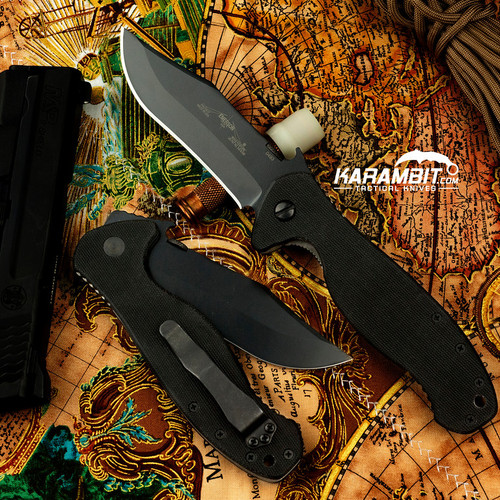 Emerson Black Patriot Folding Knife