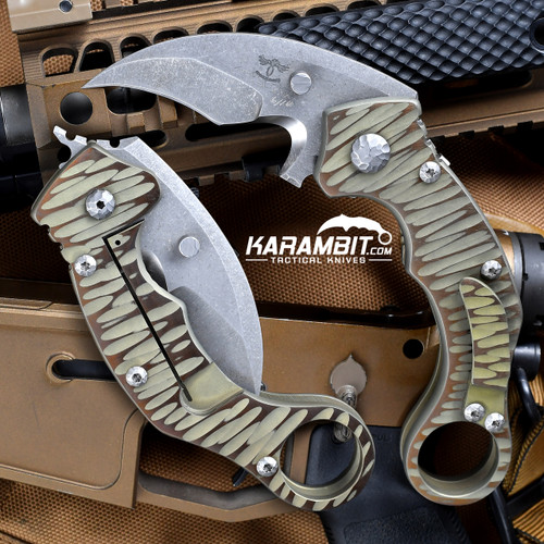 James Coogler's Assisted Reaper X2 Folding Karambit