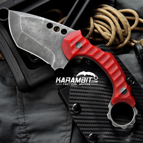 R.S. Knifeworks G10 Ringed Spade
