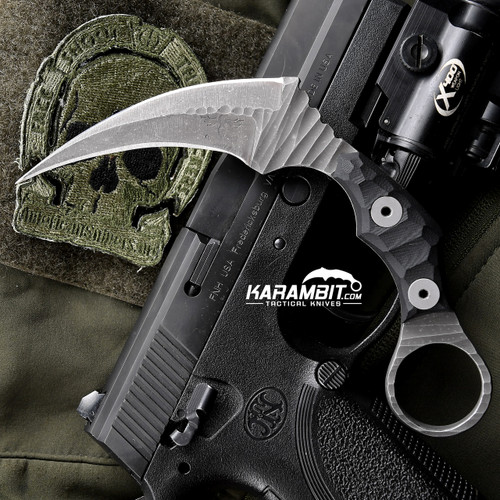 James Coogler's Rockfaced Juggernaut Karambit