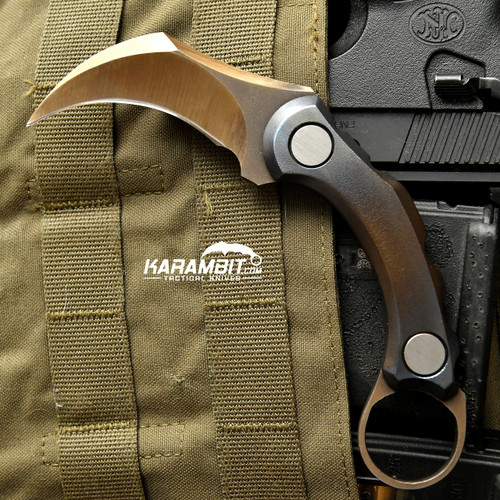 R.S. Knifeworks Titanium Anodized Karambit Peacekeeper (RSKTitaniumPeacekpr)