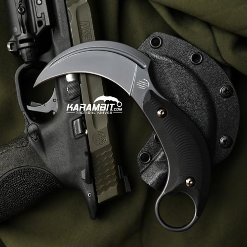 Bastinelli B.A.K Black PVD Fixed Karambit