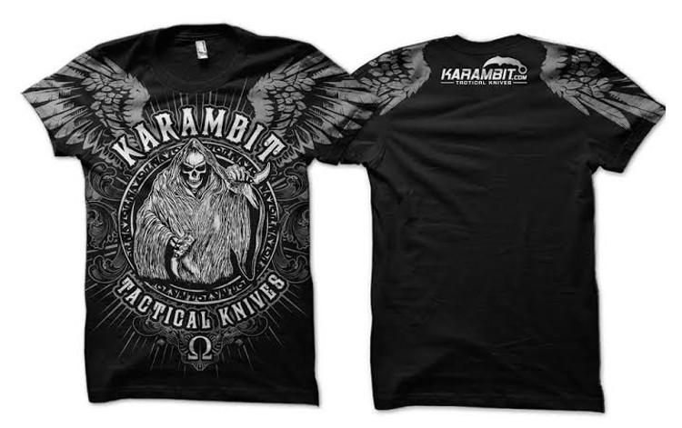 Karambit.com Karambit Tactical Knives Reaper T-shirt