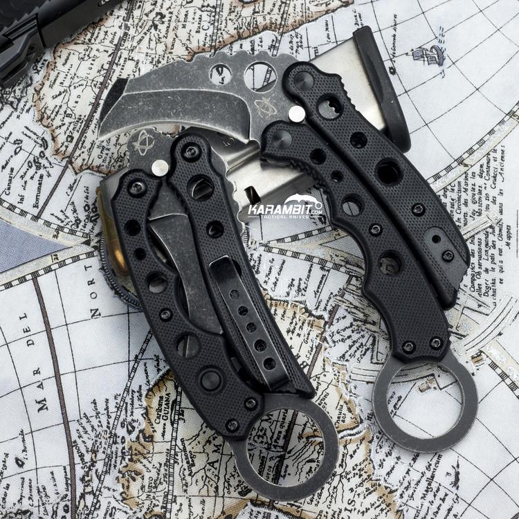 Mantis MNMK-4BSW Black Karambit (MNMK-4BSW)