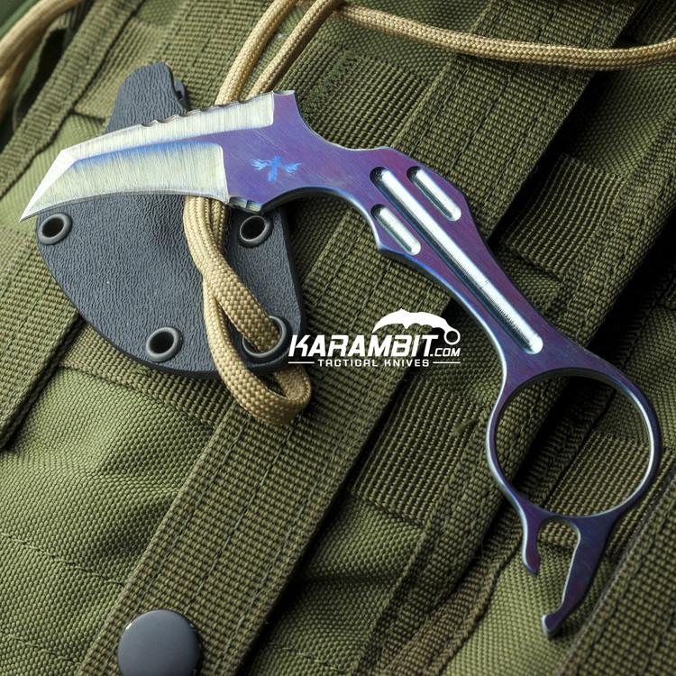 James Coogler's Titanium Edge Neck Knife (CooglerTitaniumEdgeNeckKnife)