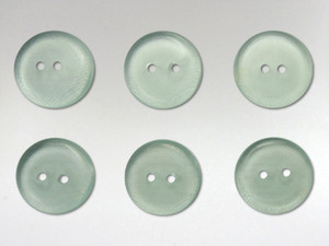 Buttons 15mm - Obsidian Green