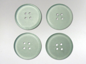 Buttons 20mm - Obsidian Green