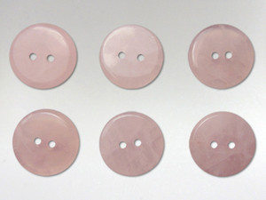 Buttons 15mm - Rose Quartz