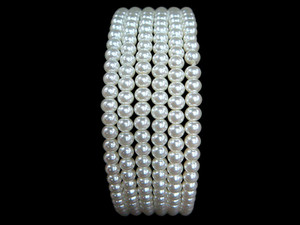 Necklace 4mm Bead - Pearl Shell