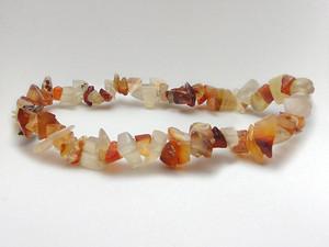 Bracelet Chip Bead - Carnelian