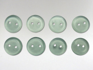 Buttons 10mm - Obsidian Green