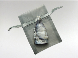Kwan Yin Small - Dendritic Opal