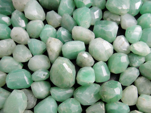 Beads Faceted - Green Aventurine 100g