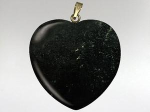 Heart Pendant 30mm - Inca Gold
