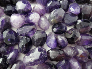 Beads Faceted - Amethyst 100g