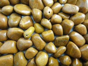 Beads Olive - Camel Agate 150g