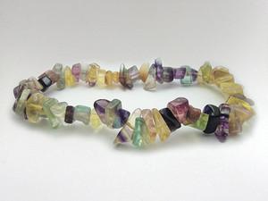 Bracelet Chip Bead - Fluorite Rainbow