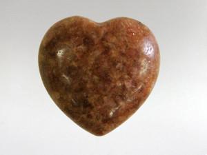 Puffy Heart - Sunstone in matrix