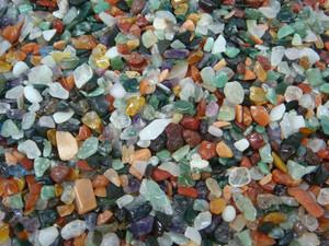 Tumble Stone - Gem pebble A 1kg