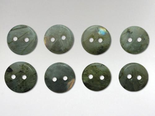 Buttons 10mm - Labradorite