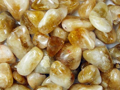 Tumble Stone - Citrine 250g