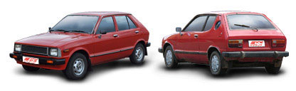 FIND NEW AFTERMARKET PARTS TO SUIT DAIHATSU CHARADE G10/G11 1981-1987
