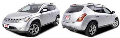 FIND NEW AFTERMARKET PARTS TO SUIT NISSAN MURANO Z50 2005-