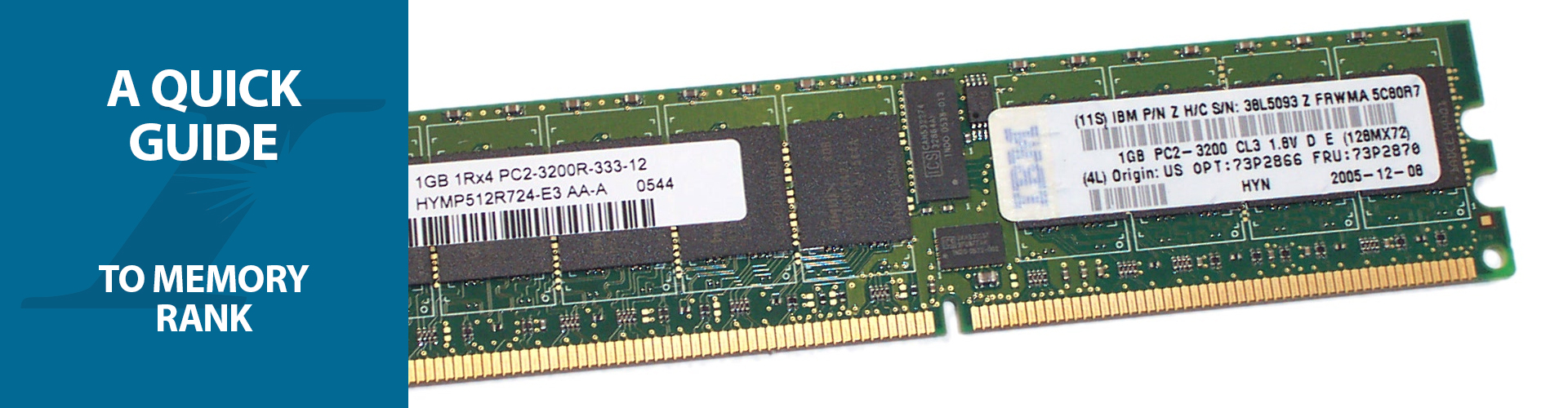 single dual rank ram