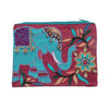 Teal Elephant Coin Purse