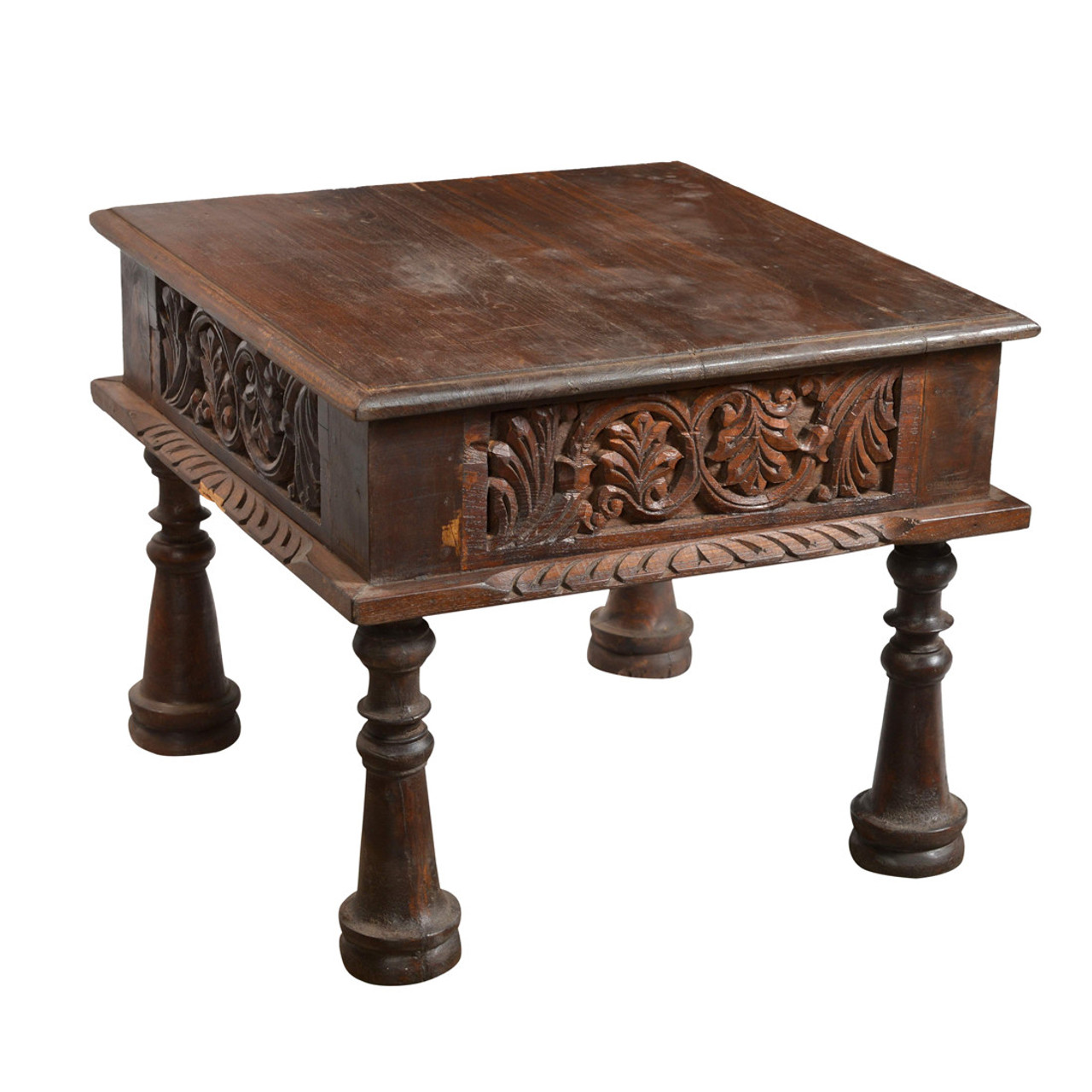 Carved Old Indian Coffee Table