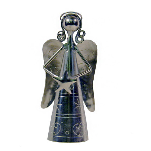 Angel Hand Bell With Star Decoration