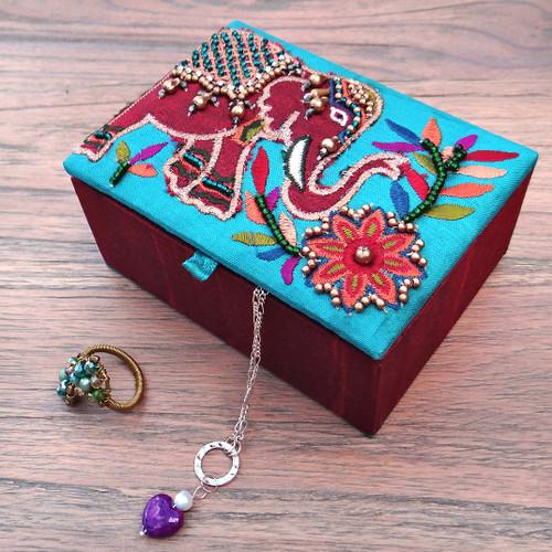 Small Elephant Jewellery Box