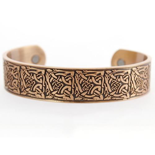 Celtic Knot Copper Bracelet