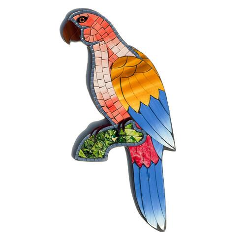 Mosaic Parrot Wall Art - Fair Trade   Present Company