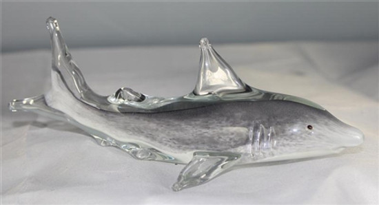 Glass Shark/Glow In The Dark/Handcrafted/Home Decor