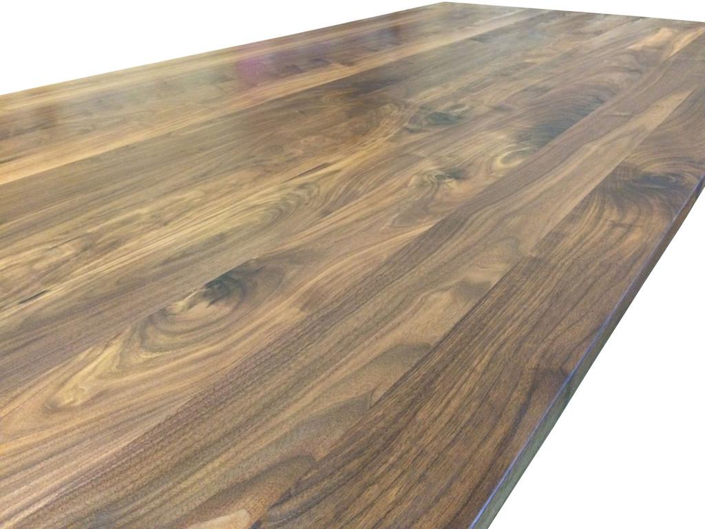 Wide Plank Walnut Top