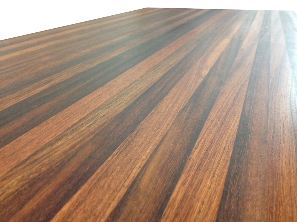 Edge Grain Brazilian Cherry Butcher Block Countertop by Armani Fine Woodworking